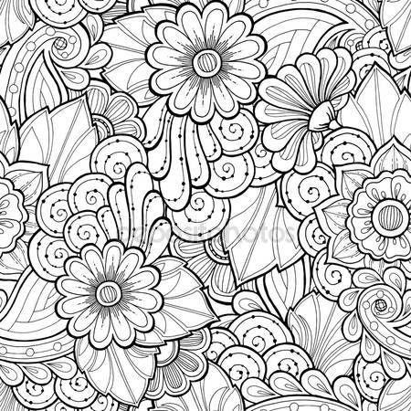 25 beste idee n over etnische patronen op pinterest etnische tattoo bloemen patroon ontwerp - Wallpaper voor hoofdeinde ...
