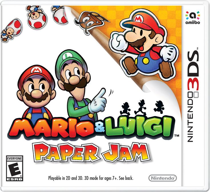 Amazon.com: Mario Luigi Paper Jam - 3DS: Video Games