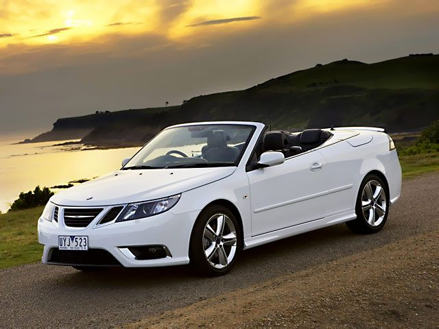 I do not like a lot of cars ..but a convertible Saab I would love to own!