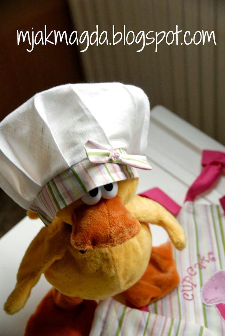 apron, fartuch kuchenny, muffin