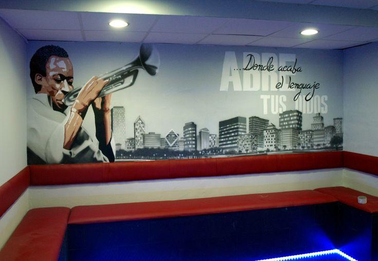 Mural Chill out segunda parte, Madrid 2012, más trabajos similares en: http://murea.es/decorativos-y-exteriores/