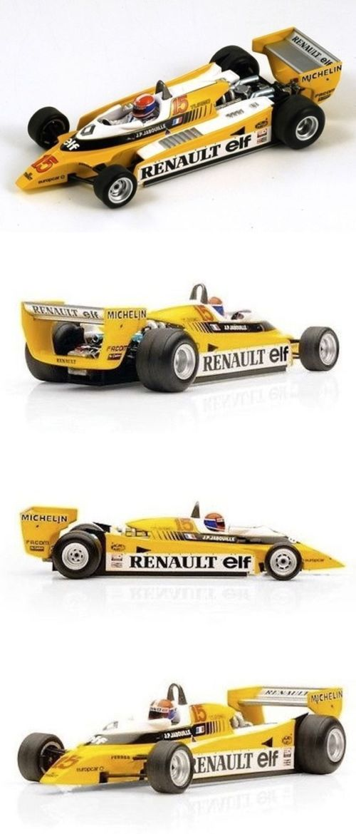 Formula 1 Cars 180270: Spark Model S1759 Renault Re20 #15 Jean-Pierre Jabouille 1St Austrian Gp 1980 -> BUY IT NOW ONLY: $69.95 on eBay!
