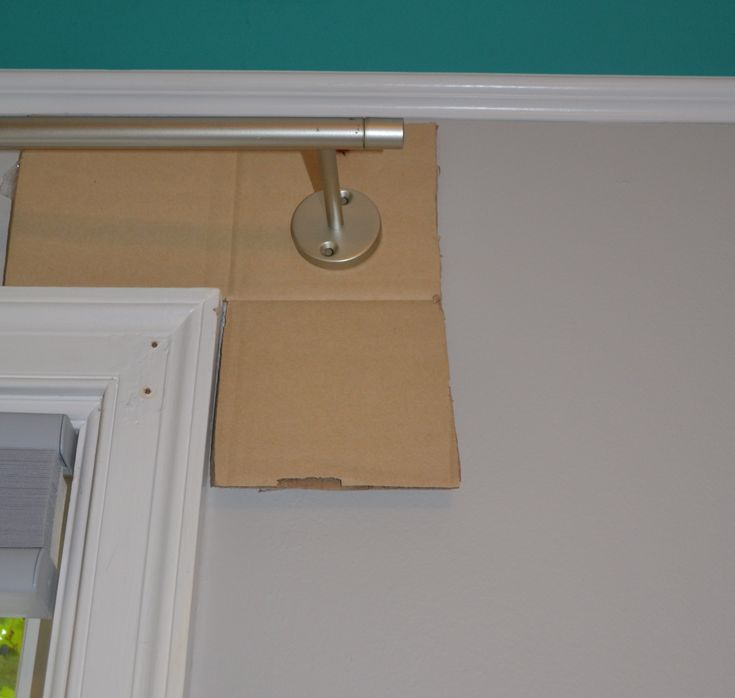 Template for hanging curtain rods                                                                                                                                                                                 More