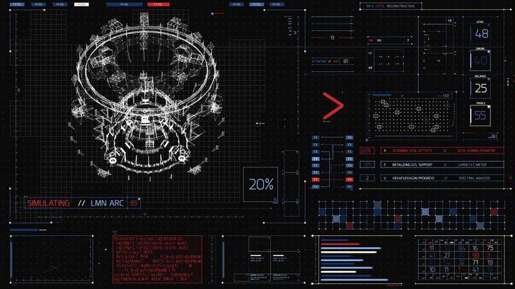 James Bond 007 Skyfall FUI by TheZeis | Futuristic ...