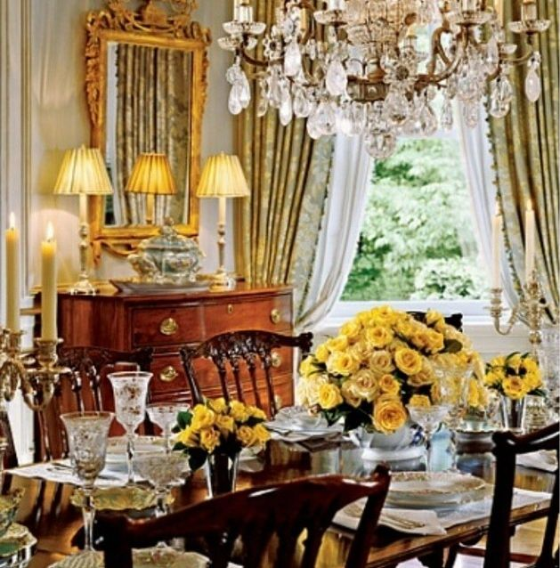 83 Best Formal Dining Rooms Images On Pinterest