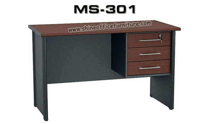 www.shineofficefurniture.com Meja kantor include laci gantung merk VIP MS-301 By Shine Furniture
