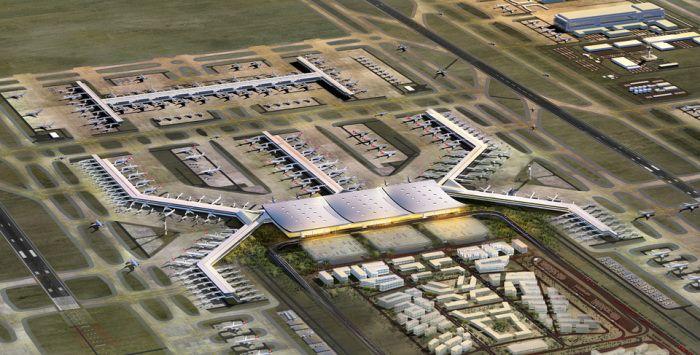 Novyj Aeroport Stambula Istanbul New Airport Amazing Architecture Amazing Buildings