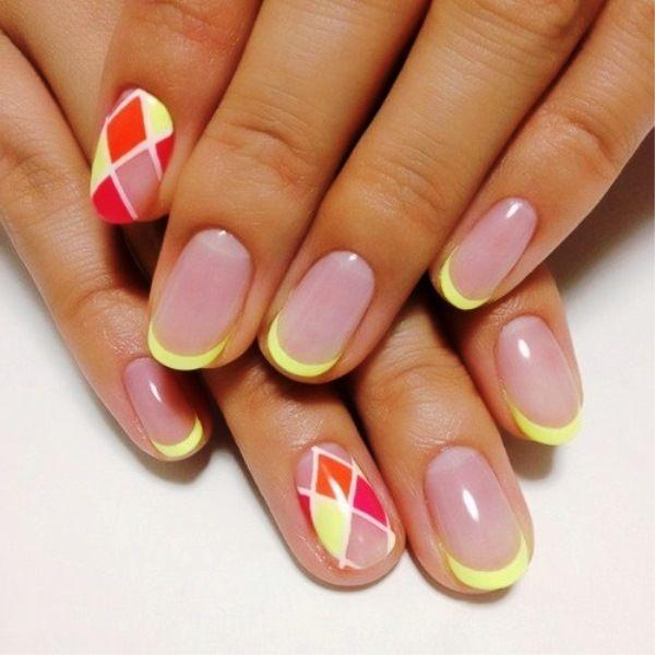 наращивание ногтей розовый френч - Поиск в Google