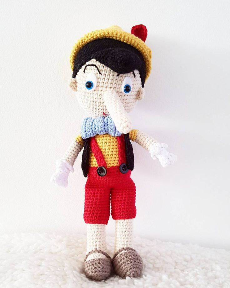 58 besten Amigurumi \'n more - Pinocchio,Puh der Bär & Dumbo Bilder ...