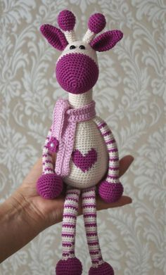 Hearty Giraffe amigurumi pattern free                                                                                                                                                                                 More