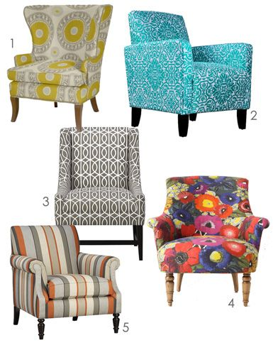 Printed chairs