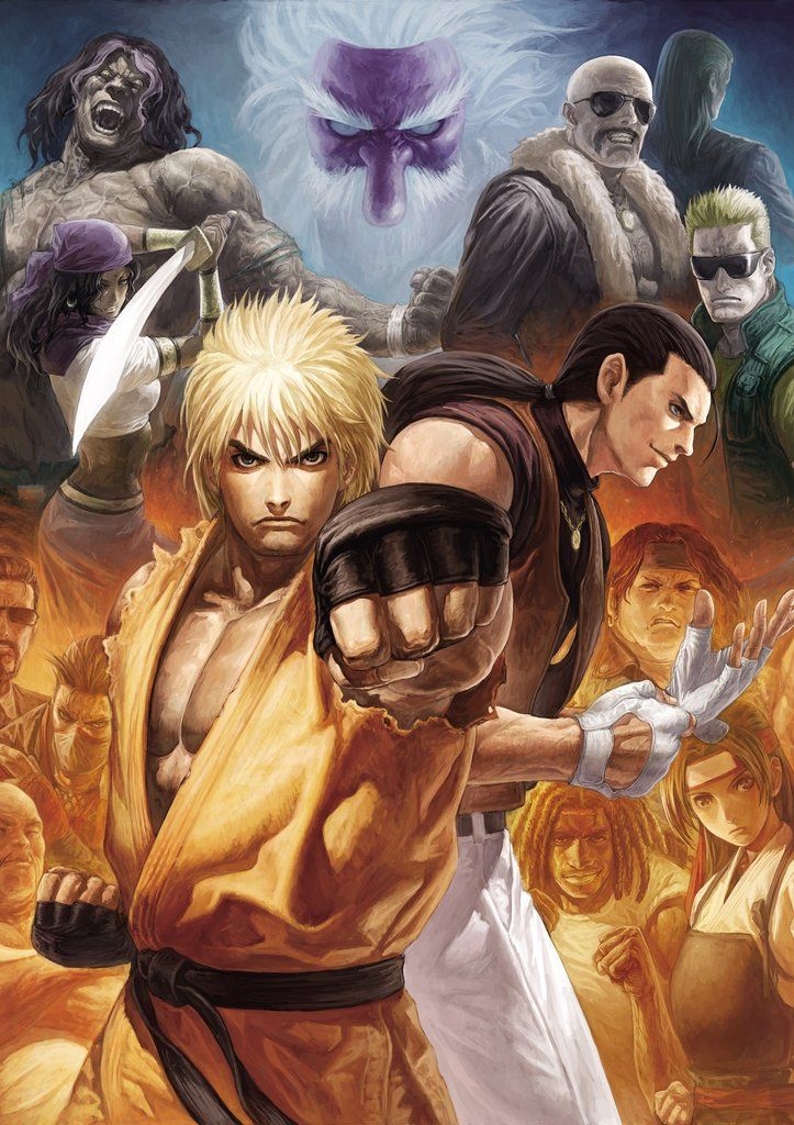 Art Of Fighting Poster Art Of Fighting Capcom Vs Snk King Of Fighters