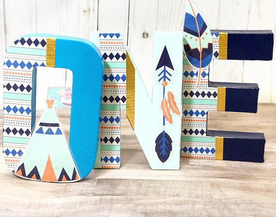 Boho Letters One Letters Tribal Letters Dreamcatcher