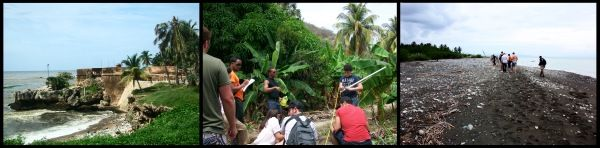 In the summer of 2011, students studied appropriate technology and Spanish while working with community members of La Yuca to build a schoolroom from plastic bottles and concrete, lit with solar and homemade wind power from bike parts and newspaper press waste, that catches its own rainwater for cleaning and drinking.