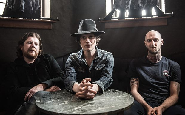 The Fratellis from Glasgow, Scotland. Big hair, skinny jeans, shades and sulky poses. Wound up by a genuine love for the music. Punk rocking blues. The 'fros and pouts are important. Think energy and cheekiness of the first Supergrass record ramped up and multiplied. http://thefratellis.com/site/, https://www.facebook.com/thefratellis, https://twitter.com/TheFratellis, https://www.youtube.com/user/TheFratellisVEVO and https://soundcloud.com/the-fratellis