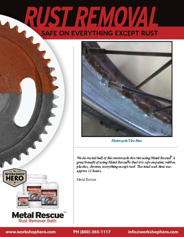 8 best how to remove rust safe clean and easy images on pinterest metal rescue rust remover bath works great on chrome this is a picture of a watchthetrailerfo