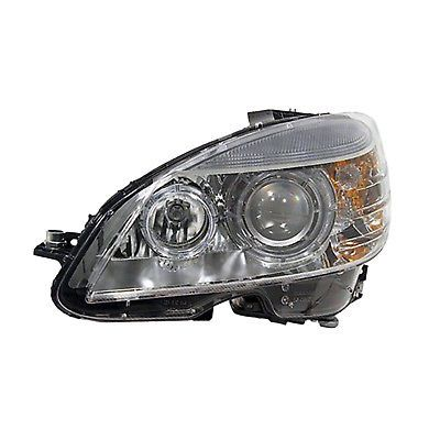 MB2502159 Left Headlamp Assembly Composite for 08-11 Mercedes C350