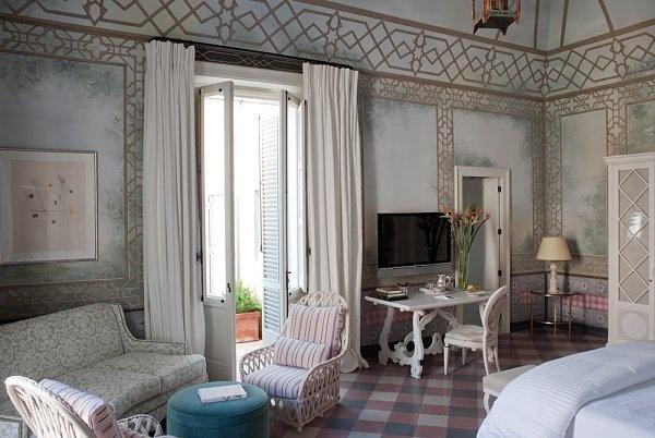 #excll #дизайнинтерьера #решения Спальня Отель Палаццо сети Коппола | Excellence Group - решения