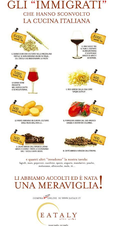 "The ""immigrants"" that shocked the Italian cuisine.  Module 3 - Local and Global  #befoodbocconimooc #globalization #travel  #drink #food #foodandbeverage #betabocconi"