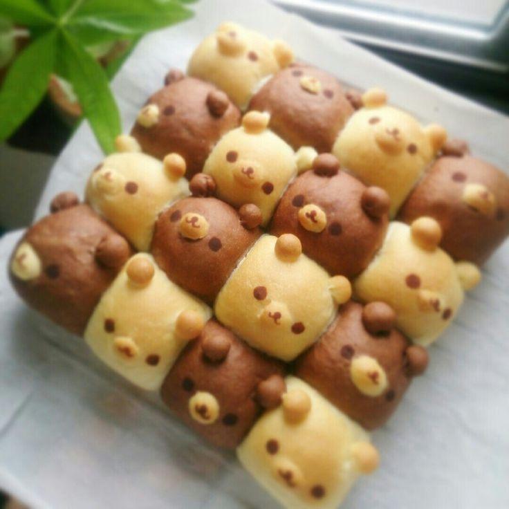 くまちぎりパン((コツ有り)) by ay11230rj [クックパッド] 簡単おいしいみんなのレシピが231万品