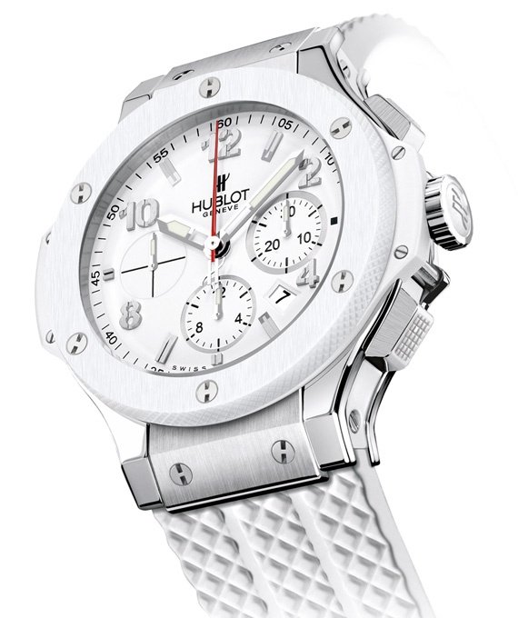 Miami Heat x HUBLOT – White Hot Big Bang Chronograph Watch | NBA Champions Edition
