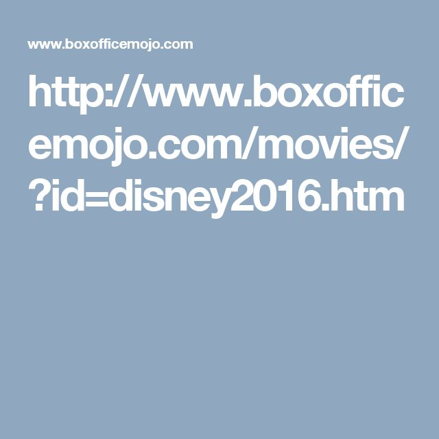 this site is great to find out a lot of info about Zootopia like Total Lifetime Grosses Domestic Summary and lot more