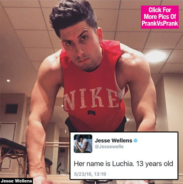 Jesse Wellens Daughter Name