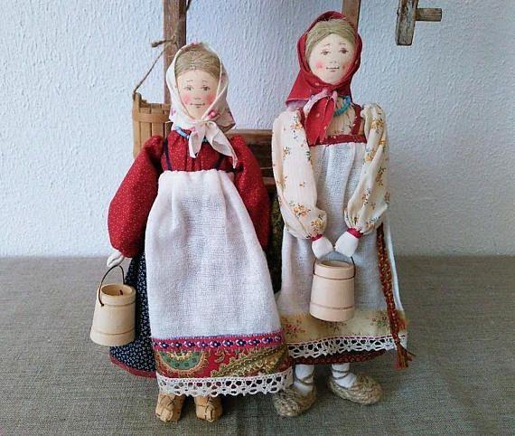 Кукла Крестьянская девочка