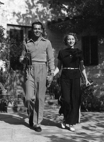 Henry Fonda and third wife Frances Seymour Brokaw