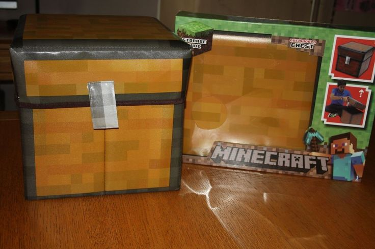 Minecraft Storage Chest Toy Woodworking Projects Amp Plans
