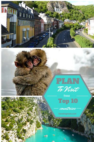 Planning an International Family Vacation? Out of the top 10 Best Vacation Countries ranked in the World - Which one would you choose?