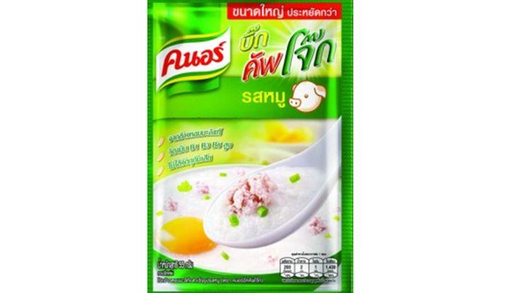 Organic Thai Jasmine Rice, Knorr Porridge Pork Flavor 55g./bag Pack of 4 bag Organic Thai Jasmine Rice, Knorr Porridge Pork Flavor 55g./bag Pack of 4 bag