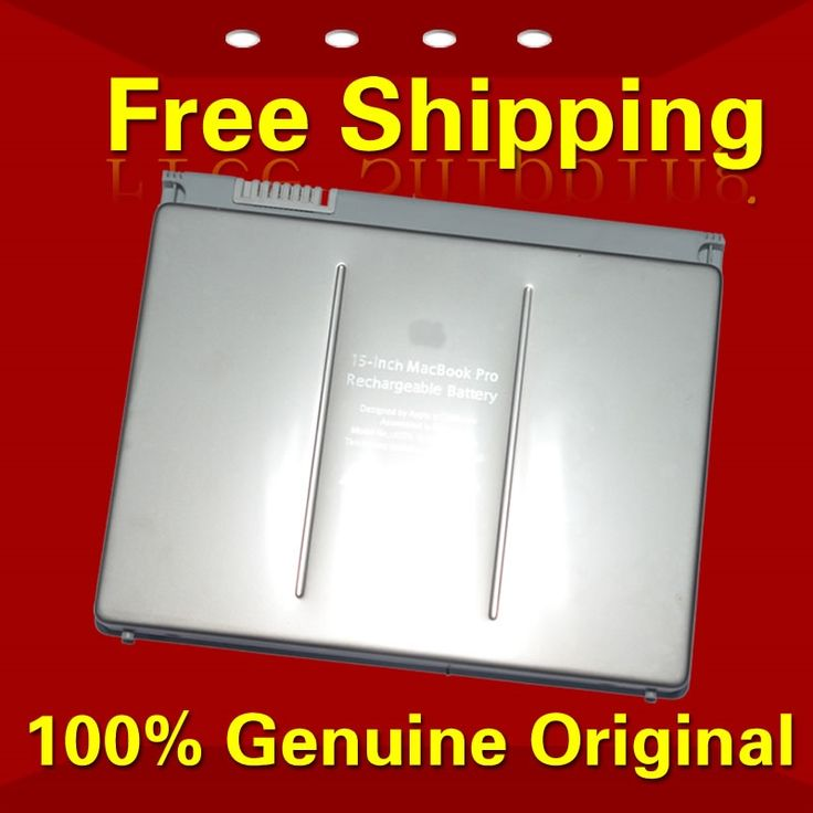 "44.97$  Watch now - http://aitqd.worlditems.win/all/product.php?id=32538730732 - ""Free shipping A1175 MA348 Original Laptop Battery For APPLE MacBook Pro 15"""" A1150 A1211 A1226 A1260 MA463 MA464 MA600 MA601"""