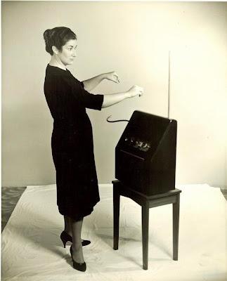 Shirleigh Moog and Theremin