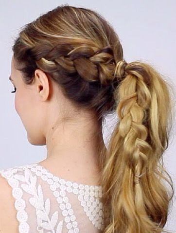 Prime 1000 Ideas About Quick Braided Hairstyles On Pinterest Formal Hairstyle Inspiration Daily Dogsangcom