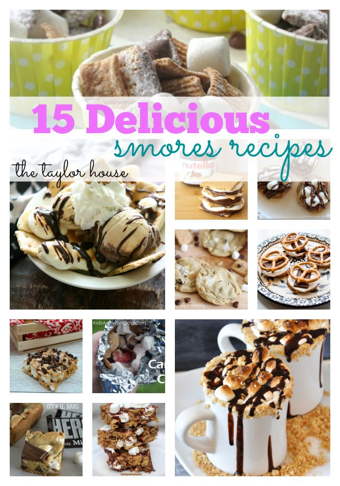 Smores Recipes That Will Rock Your World
