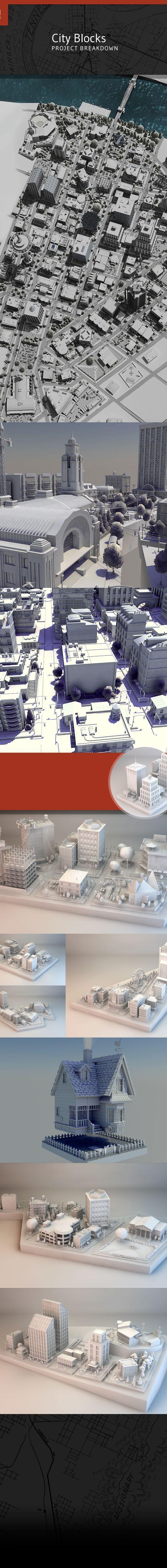 https://www.behance.net/gallery/19957587/3D-City-Blocks