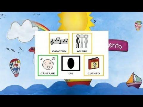 Canción Amigo para trabajar la amistad, los modales y los valores. Con pictogramas de ARASAAC. Letra disponible en la web gratis