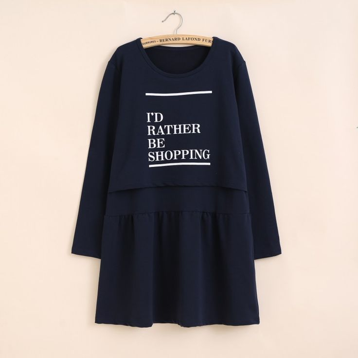 2015 Maternity Autumn Dresses  Breastfeeding Nursing Pregnancy Clothes 100% Cotton-in Dresses from Mother & Kids on Aliexpress.com | Alibaba Group