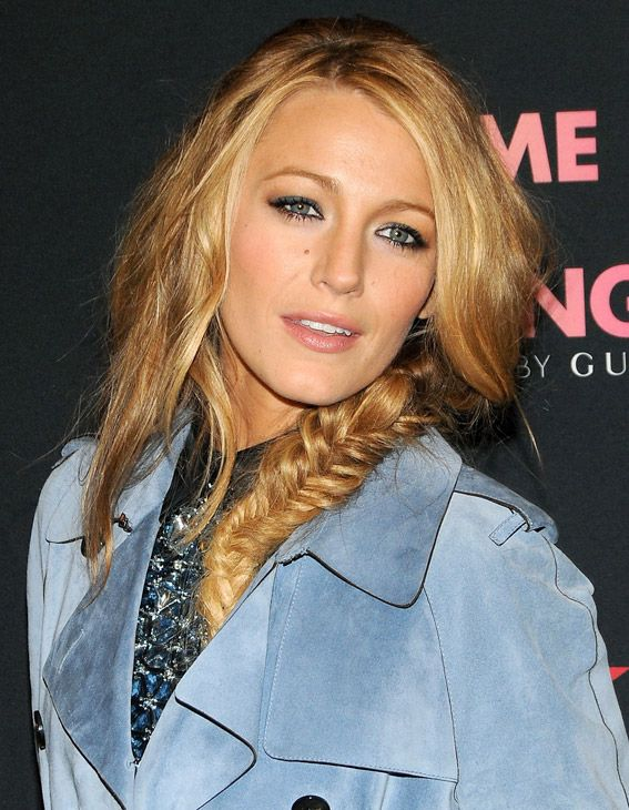 The Best Celebrity Side Braids Messy Fishtail Blake Lively And Fishtail