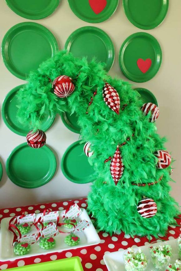 The Grinch Party Decorations See More Party Ideas And Share Yours