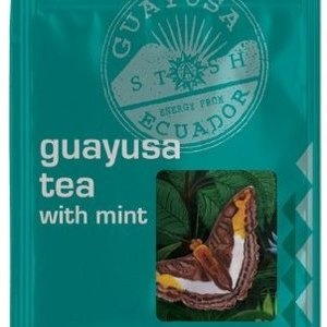 Tried & reviewed by @SororiTEA Sisters: Guayusa Tea With Mint from Stash Tea Company