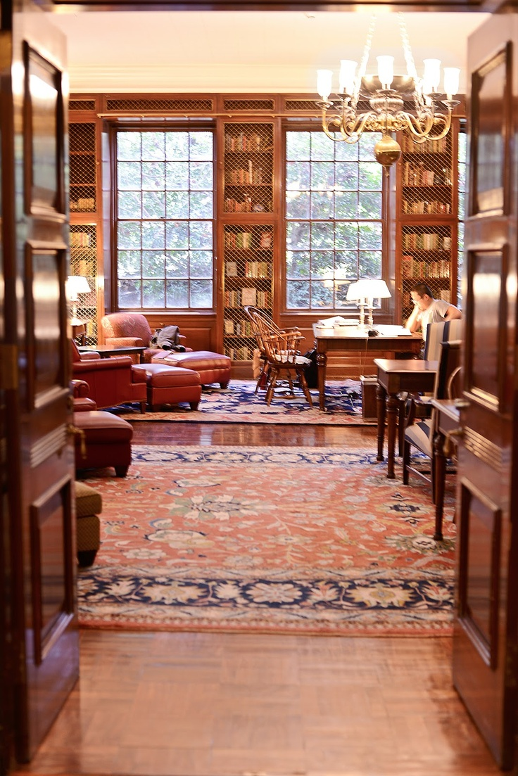 University of Virginia, McGregor Room in Alderman Library, Scenes from Grounds | Samantha Brooke Photography