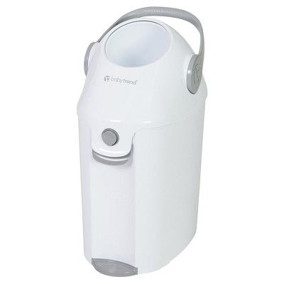 Baby Trend Diaper Champ Deluxe Diaper Pail - Just Right White