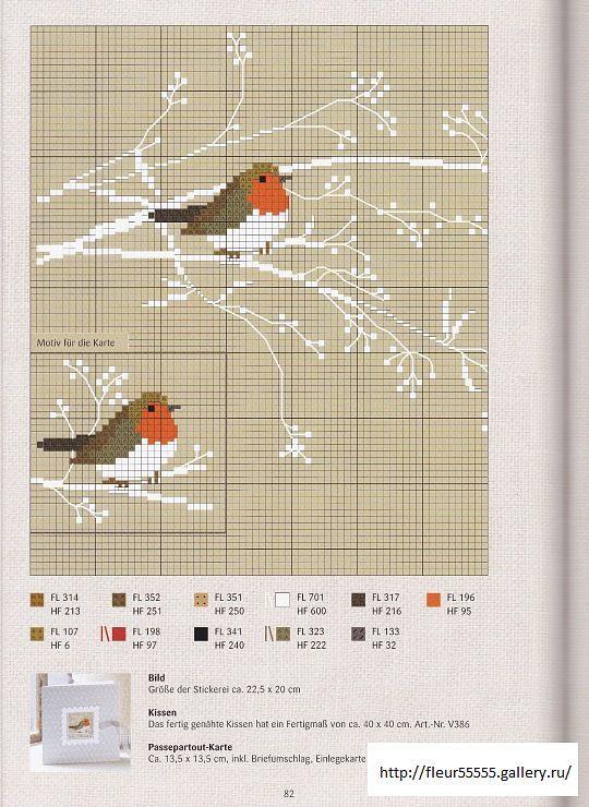 Etamin Şablonları Kuş Desenleri , #Crossstitch #crossstitchbirds #kanaviçei…