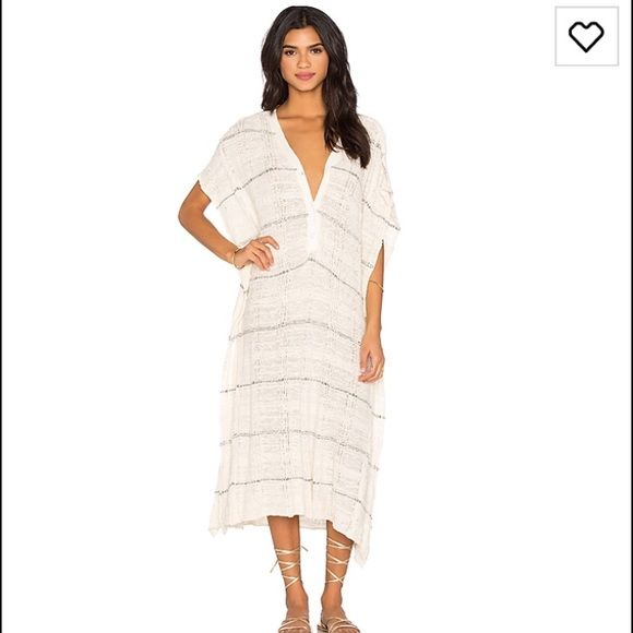 Poncho dress / coverup Free People cute cute poncho dress or cover up. Brand new never worn Free People Dresses