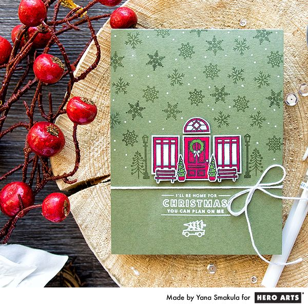 My Monthly Hero: Creativity in a Box November 2016 kit idea #6 by Yana Smakula. Kit and add-ons available for purchase Monday, November 7. #mymonthlyhero