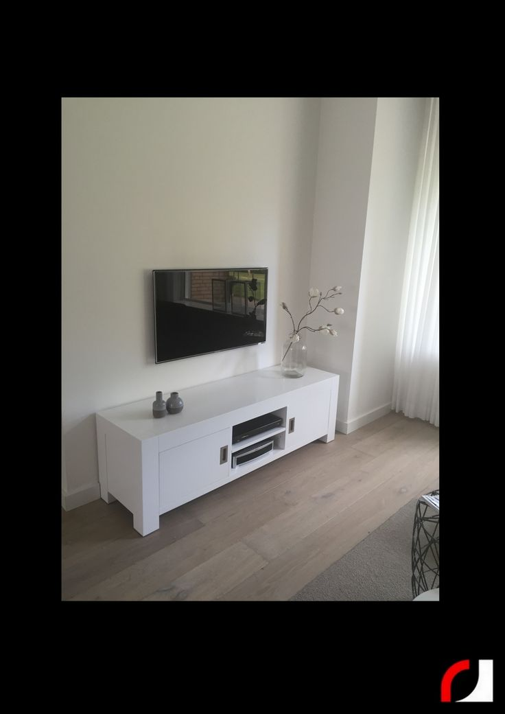 25 beste idee n over witte tv meubels op pinterest - Fotos van woonkamer meubels ...
