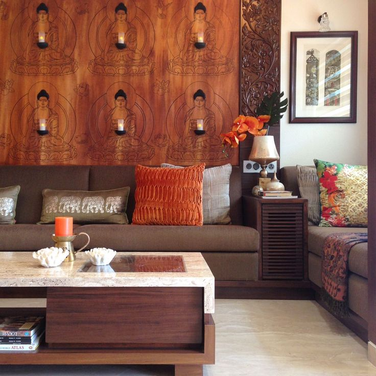 A Creative Mix Of Sophisticated Contemporary And Traditional Indian Design  Elements Transform The Desaiu0027s Mumbai Home Into A Visual Payoff.