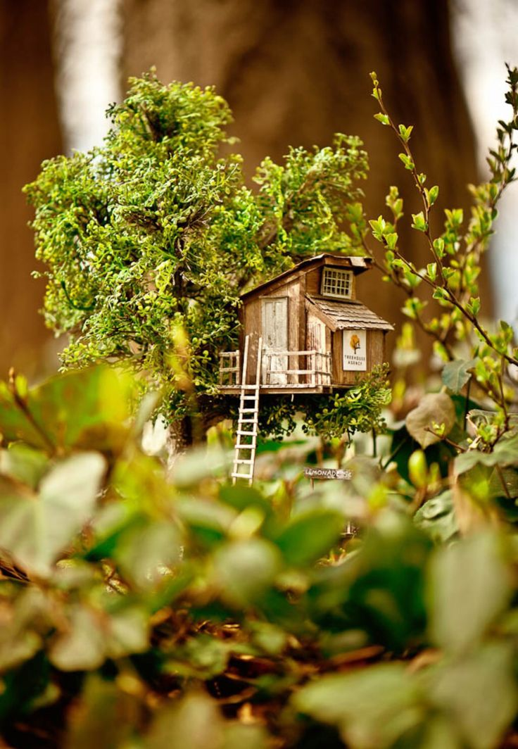 Miniature Tree House 190 best tree houses images on pinterest | treehouses